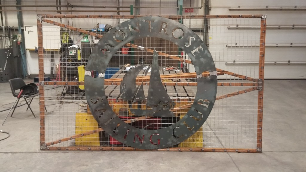 New Gate under construction